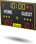 Bodet - Multisport Scoreboard BT6015 - Home Guest stickers