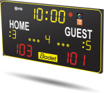 Bodet - Multisport Scoreboard BT6120 - Home Guest stickers