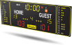 Bodet - Basketball Scoreboard - BT6220 Alpha - Home Guest Stickers