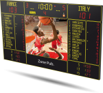 Bodet - Handball Scoreboard BT6730 Video 7M 14P H10