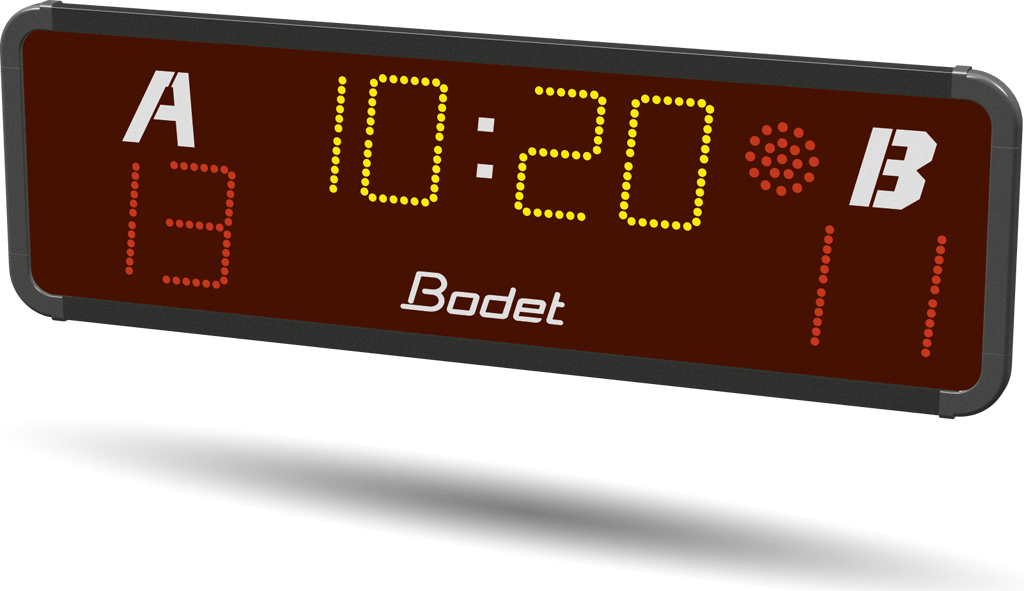 BTX6015 - removable LED multisport scoreboard for outdoor